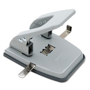 Skilcraft NSN2247589 2 Hole Punch . 60cm Size 25 Sheet Capacity Grey WLM