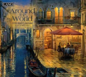 Around the World 2018 Wall Calendar