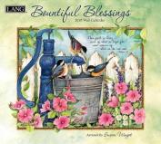 Bountiful Blessings 2018 Wall Calendar