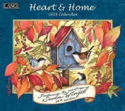 Heart & Home 2018 Wall Calendar