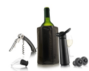 Vacu Vin Wine Essentials Gift Set - Black [Special Edition]