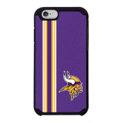 NFL Minnesota Vikings Vertical Stripes Team colour NFL Football One 6 Case, Purple