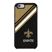 NFL New Orleans Saints Diagonal Stripes Team colour NFL Football One 6 Case, black