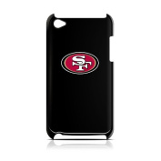 NFL San Francisco 49ers Varsity Jacket Hardshell Case for iPod Touch 4G, Black, 11cm x 6.1cm