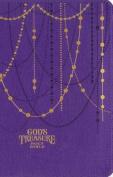 NIV God's Treasure Holy Bible, Imitation Leather, Amethyst