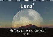 Luna 2 - fictional lunar landscapes 2018