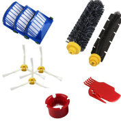 Replacement Accessories Set for iRobot Roomba 600 610 620 630 650 Series Vacuum Cleaner Replacement Spare Parts Kit