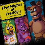 Five Nights at Freddy's 2018 Wall Calendar
