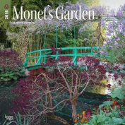 2018 Monet's Garden Wall Calendar