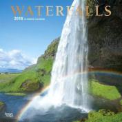 2018 Waterfalls Wall Calendar