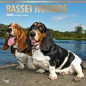 2018 Basset Hounds Wall Calendar