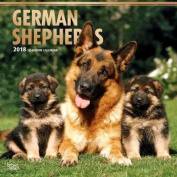 2018 German Shepherds Wall Calendar