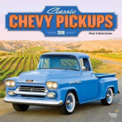 2018 Classic Chevy Pickups Wall Calendar