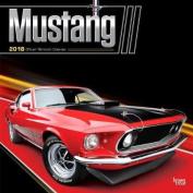 2018 Mustang Wall Calendar