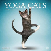 2018 Yoga Cats Wall Calendar