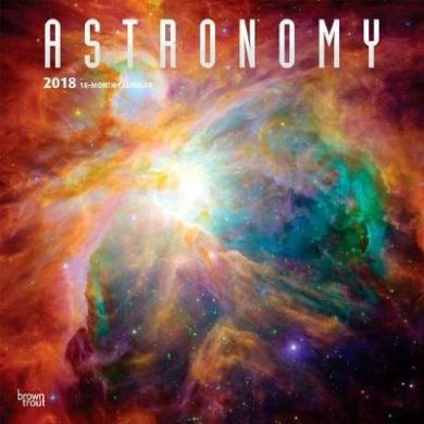 2018 Astronomy Wall Calendar