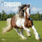 2018 Clydesdales Wall Calendar