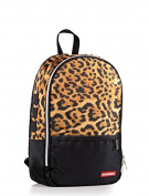 Mag Sprayground Sprayground Leopard Print Gold Zipper Backpack
