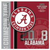 Alabama Crimson Tide 2018 12x12 Team Wall Calendar