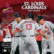 St Louis Cardinals 2018 12x12 Team Wall Calendar