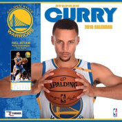 Golden State Warriors Stephen Curry 2018 Wall Calendar