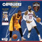 Cleveland Cavaliers 2018 12x12 Team Wall Calendar
