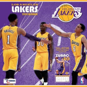 Los Angeles Lakers 2018 12x12 Team Wall Calendar