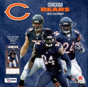 Chicago Bears 2018 12x12 Team Wall Calendar