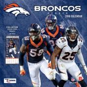 Denver Broncos 2018 12x12 Team Wall Calendar