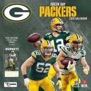 Green Bay Packers 2018 12x12 Team Wall Calendar