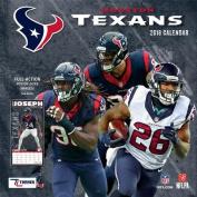 Houston Texans 2018 12x12 Team Wall Calendar