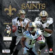 New Orleans Saints 2018 12x12 Team Wall Calendar