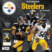 Pittsburgh Steelers 2018 12x12 Team Wall Calendar