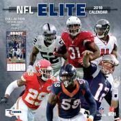 NFL Elite 2018 12x12 Wall Calendar