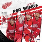 Detroit Red Wings 2018 12x12 Team Wall Calendar