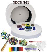 USPS  .  -Professional Extra Large Microwave Kiln Kit 9 Piece Set
