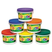Crayola - Modelling Dough Bucket, 1.4kg., Assorted, 6 Buckets/Set 57-0016 (DMi ST