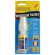WINDOW PAINT/WHITE, Sold By Case Pack Of 36 Pieces