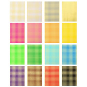 Outus Colour Coding Labels Dot Stickers Round Circle Stickers, 16 Sheets, 6528 Pieces in Total