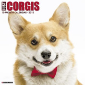 Just Corgis 2018 Wall Calendar