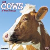 Just Cows 2018 Wall Calendar