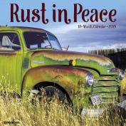Rust in Peace 2018 Wall Calendar