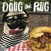 Doug the Pug 2018 Mini Wall Calendar