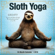 Sloth Yoga 2018 Wall Calendar