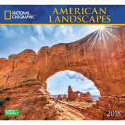 2018 National Geographic America Wall Calendar
