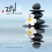 Zen Art & Poetry Wall Calendar 2018