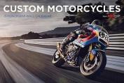 Custom Motorcycles Bike Exif Calendar 2018