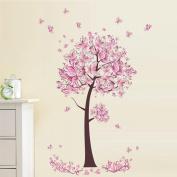 Wall Sticker, Hatop New Butterfly Flower Fairy stickers Bedroom Living Room Walls