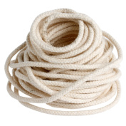 Hunulu 10M 33 ft Braided Cotton Core Candle Making Wick For Oil Or Kerosene Lamps 4mm