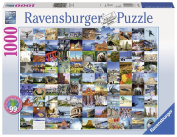 Ravensburger 99 Beautiful Places in the USA & Canada 1000pc